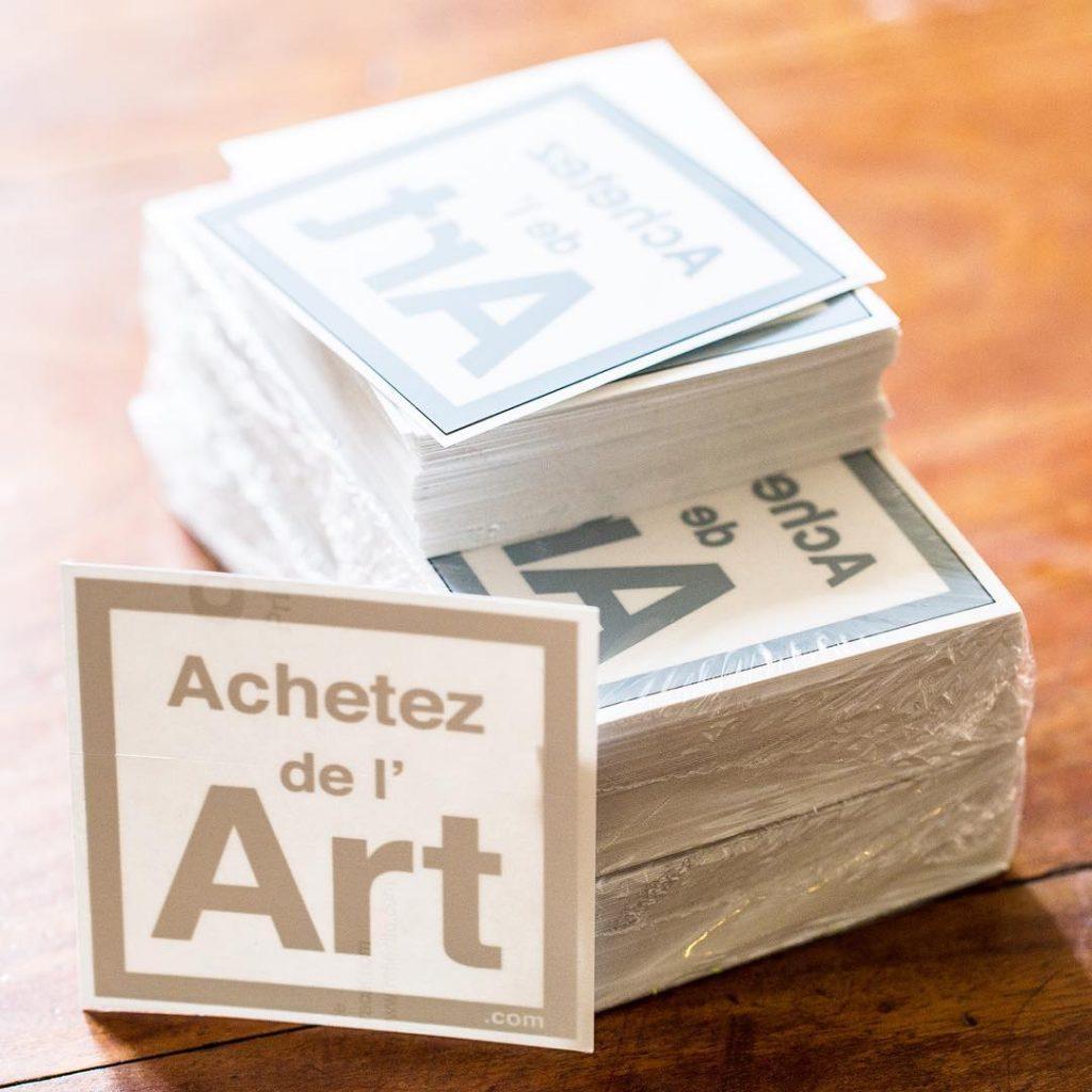 Sticker en vitrophanie Achetez de l'Art