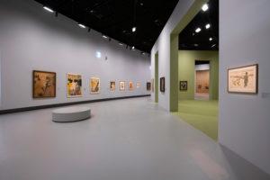 Toulouse-Lautrec - Vue de l'exposition du Grand Palais