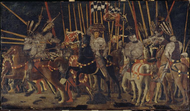 Uccello - Bataille de San Romano