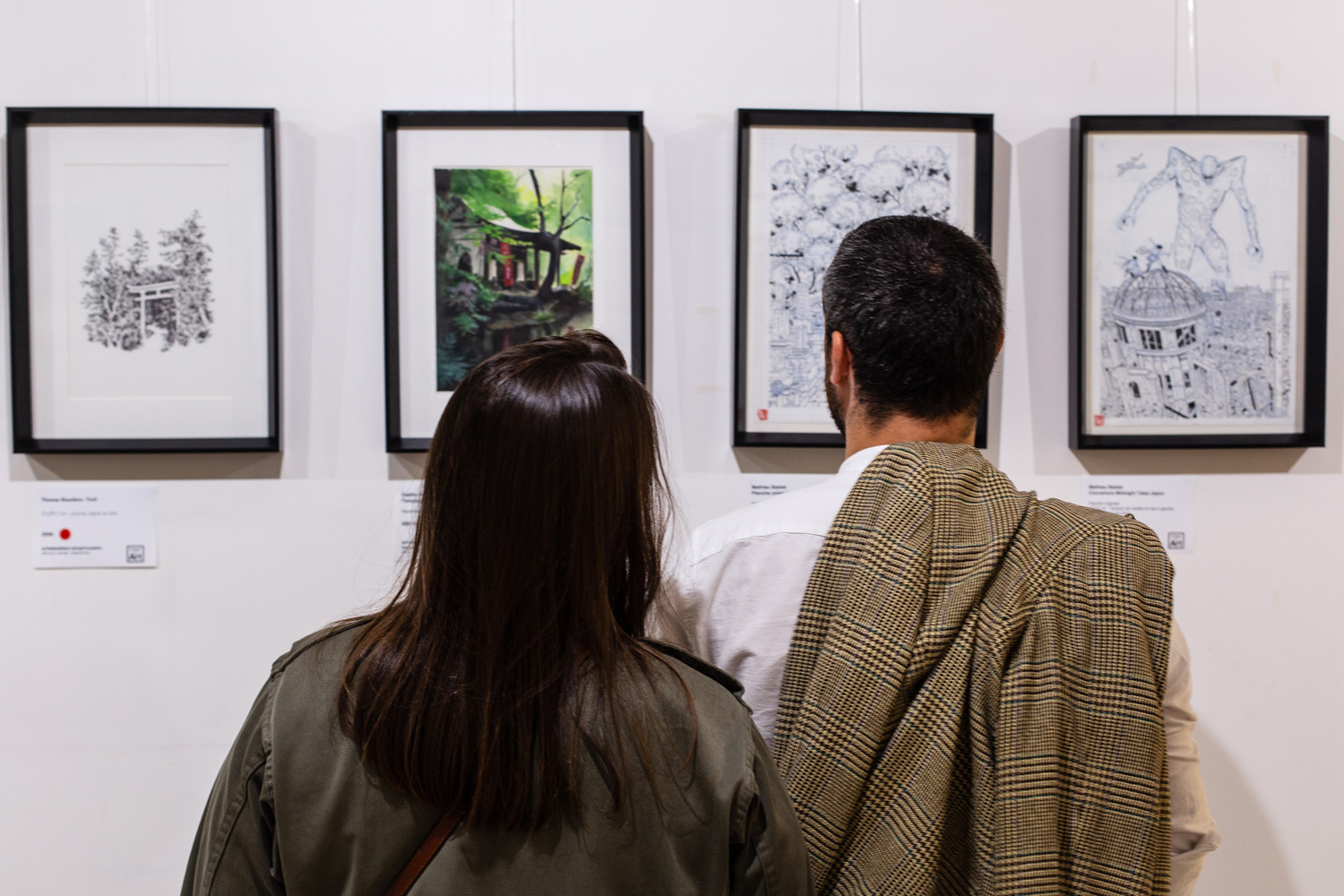Vernissage Visions du Japon