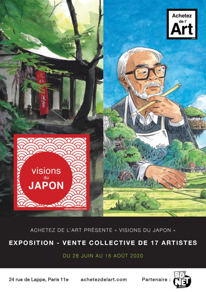 Visions du Japon - Exposition Achetez de l'Art