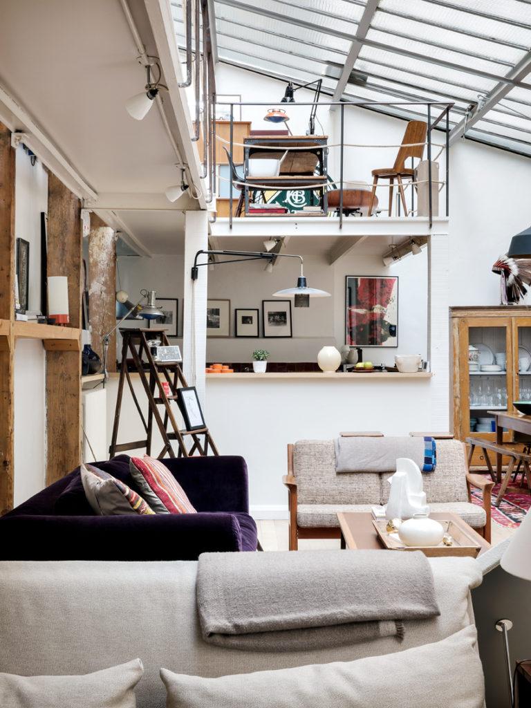 Wilo grove un concept de maison d 39 art sur internet et en galerie - Interieur eclectique grove design ...