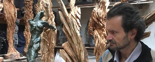 Xavier Dambrine, sculpteur