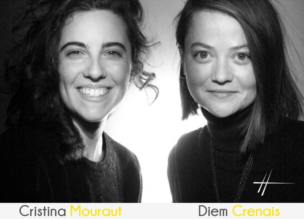 Yellow Peacock : Cristina Mourot et Diem Crenais